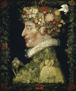 Giuseppe Arcimboldo. Primavera.1573