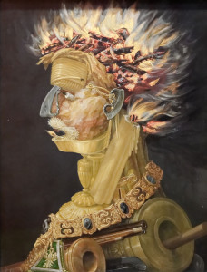Il Fuoco. Giuseppe Arcimboldo