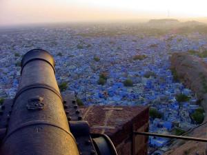 Jodhpur la città blu dal forte Mahagarth