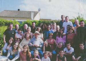 La famiglia di zio Peppino Lamonica in Corsica