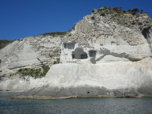 Le grotte dei 'coatti'