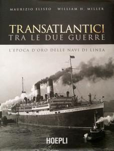 Libro Transatlantici tra le due guerre. Copertina