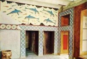 Megaron della Regina. Palazzo di Cnosso. Creta