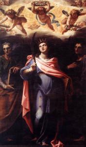 Pomarancio. 1598-99. Santi Domitilla Nereo e Achilleo