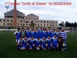 Squadra Giovanile Ponza. 2004