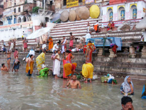 Varanasi. Ghat sul Gange.1