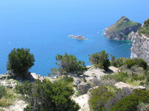 Veduta dal Monte Guarniere