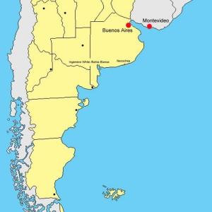 Argentina. Mappa 1