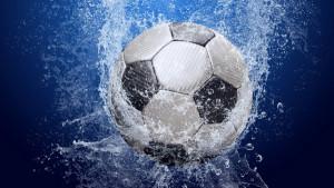 Calcio Ponza. Pallone acqua