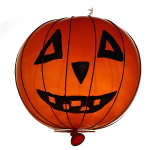 Halloween. Pallone