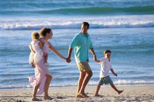 Le famiglie e il mare