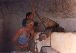Luigino. Pietra torcia