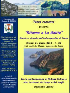 Manifesto Evento La Galite