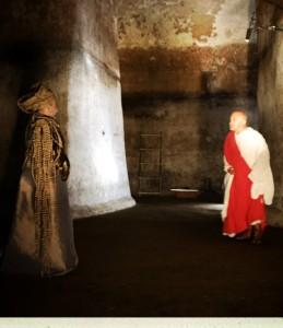 Pilato Cordella  con Caifa (Alfonso Postiglione)
