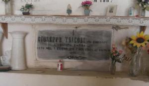 Ponza. Il sepolcro di Giuseppe Tricoli