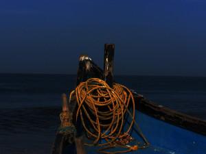 Prua di barca. Rew