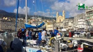005 IsolaMondo, i ragazzi di Bastia in visita alle barche