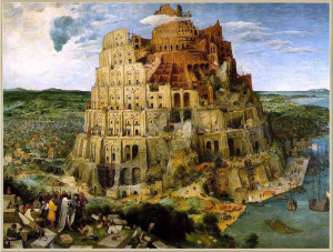 Bruegel. Torre di Babele. 1563