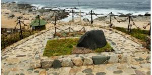La tomba di Pablo Neruda a Isla Negra