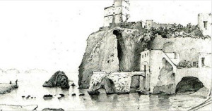 Da Mattei. Torre Farnese Vecchia stampa