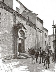 Presenza storica del cappero in un'antica stampa