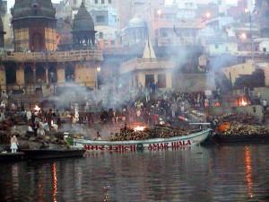 Varanasi. Pire funebri.2