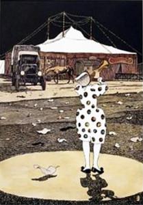 6. Illustrazione di Milo Manara per I Clowns