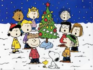 Happy Christmas. Peanuts