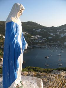 Madonnina sopra Cala Feola
