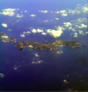 Ponza. Aerial view.2