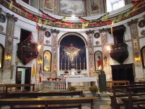 Ponza. Chiesa Ss. Trinità