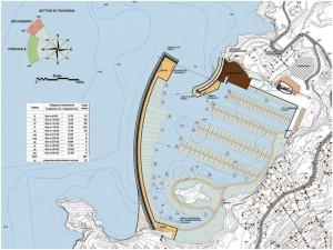 Progetto Porto di Cala dell'Acqua