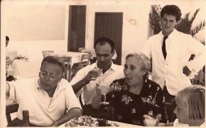 Togliatti a Ponza. 1949