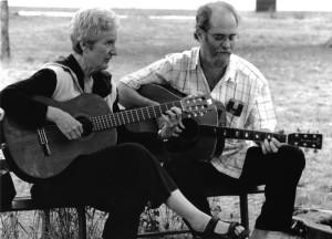 Giovanna Marini e Francesco De Gregori. Foto del maggio 2003