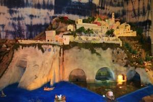 Presepio. Le grotte di Pilato e il cimitero soprastante