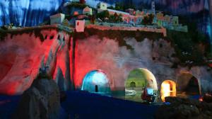 Presepio. Le grotte e il Cimitero soprastante.2