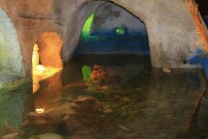 Presepio. Particolare grotta