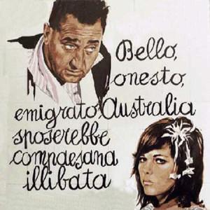 Bello onesto emigrato Australia...