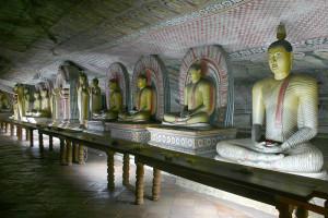 Buddha caves at Dambulla