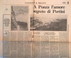 Da Il Mattino del 1985. Foto di Armando Marrazzo