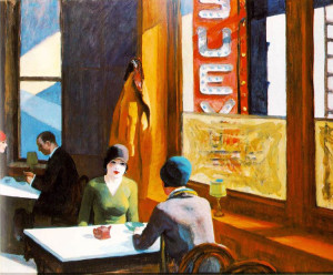 Edward Hopper. 1929. Chopsuey