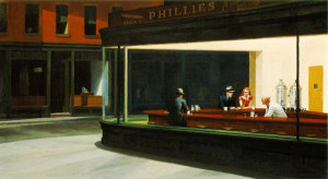 Edward Hopper. 1942. Nighthawks