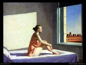 Edward Hopper. Morning sun. 1952