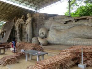 Il Buddha disteso di Polonnaruwa