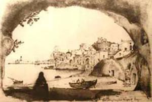 Immagini dal Mattei. Scorcio del porto dalla Grotta del Grano