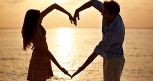 Innamorati mare cuore