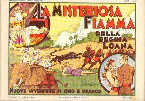 La misteriosa fiamma... Cino e Franco