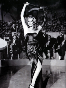 Rita Hayworth in 'Gilda'