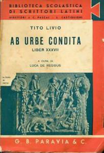 Tito Livio. Ab Urbe condita