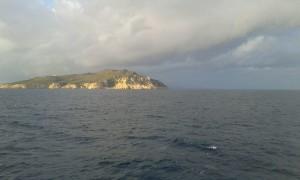 mare in prossimità di Zannone